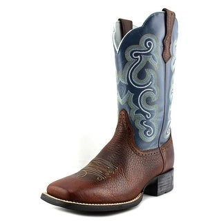 Ariat Quickdraw Square Toe Leather Western Boot