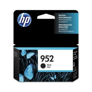 HP 952 Black Original Ink Cart F6U15AN#140 952 Black Original Ink Cartridge