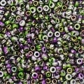 BeadSmith Unions, 11/0 Round Seed Beads, 24 Gram Tube, Opaque White Funky Orchid - Thumbnail 0