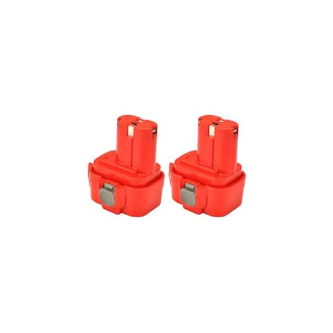 Replacement For Makita 9120 1500mAh Power Tool Battery - 2 Pack
