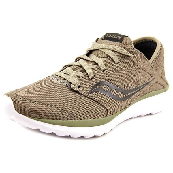 Saucony Kineta Relay Men Round Toe Canvas Brown Running Shoe