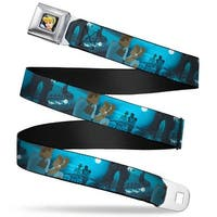 Cinderella Close Up Full Color Cinderella Ball Night Scenes Webbing Seatbelt Belt