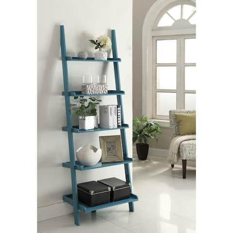Porch & Den Jon Wooden Bookshelf Ladder