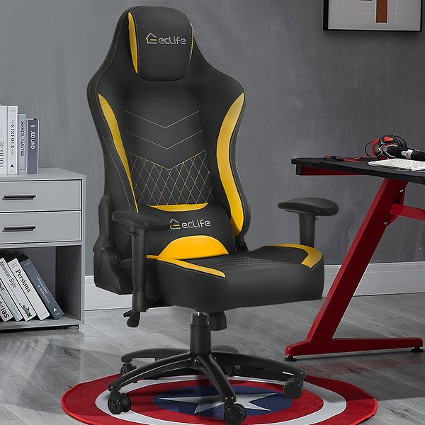 Massage Gaming Chair YELLOW. Opens flyout.
