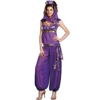 Dreamgirl Ally Kazam Adult Costume - Purple