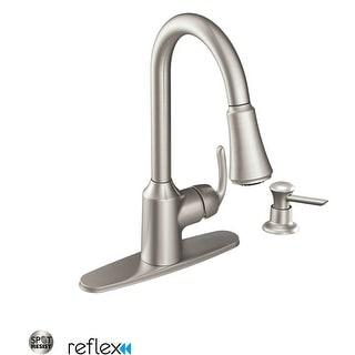 Moen CA87094  Bayhill Pullout Spray High-Arc Kitchen Faucet with Reflex Technology