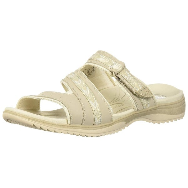dda7a04b956 Shop Dr. Scholl s Womens Day Slide Leather Open Toe Casual Slide Sandals -  Free Shipping On Orders Over  45 - Overstock - 22810345