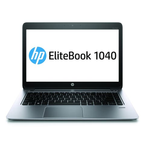 """HP 1040G1 i5-4200 8GB 128GB SSD W10P 14"""" (Refurbished)"""