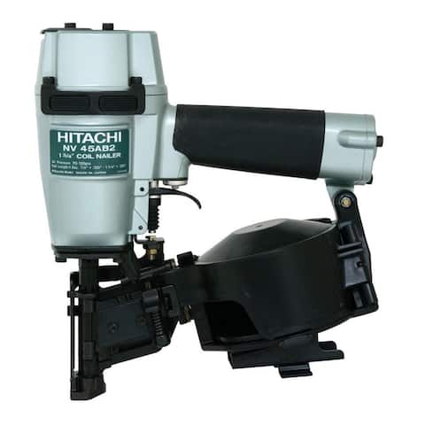 Hitachi NV45AB2M Coil Roofing Nailer, 1-3/4""