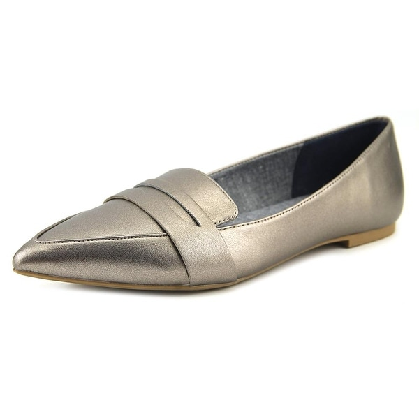 b85328f4a6a Shop Dr. Scholl s Sofie Women Pointed Toe Leather Gray Loafer - Free ...