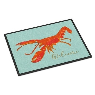 Carolines Treasures BB8534JMAT Lobster Welcome Indoor Or Outdoor Mat - 24 x 36 in.