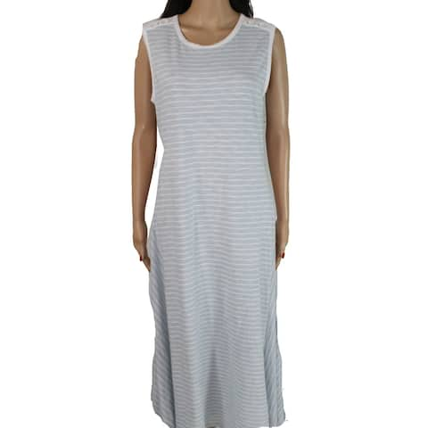 Lauren by Ralph Lauren Women's Dress Blue Size Large L Shift Fayola