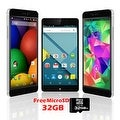 "Indigi® Factory Unlocked 3G 6"" DualSim SmartPhone Android 5.1 Lollipop w/ WiFi + Bluetooth Sync + 32gb microSD Included - Black - Thumbnail 0"
