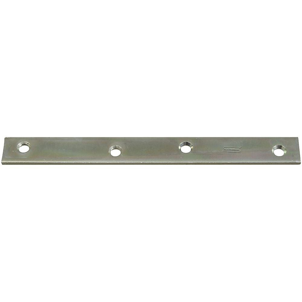 National Hardware N220-293 Mending Plate, 8 x 7/8, Zinc Plated