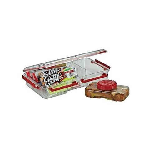 Plano 4641-00 plano liqua-bait locker system deep w/bottle & bait grabber clear