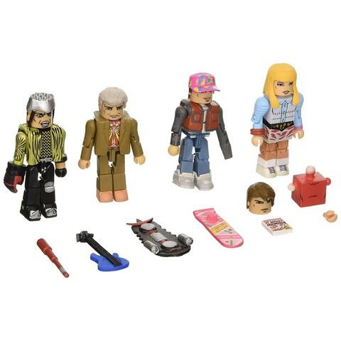 Back to the Future: 30th Anniversary 2015 Hill Valley Minimates Figure Box Set - multi