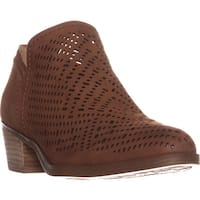 naturalizer Zenith Perforated Ankle Booties, Whiskey