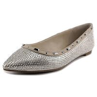 INC International Concepts Womens Zabbie2 Pointed Toe Slide Flats