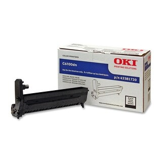 Oki Data Type C8 C6100/C6150 Series/C5550n Mfp/Mc560mfp Image Drum (Black) - 43381720