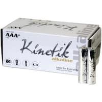 Kinetik 53313 Aaa Alkaline Batteries, 50 Pk