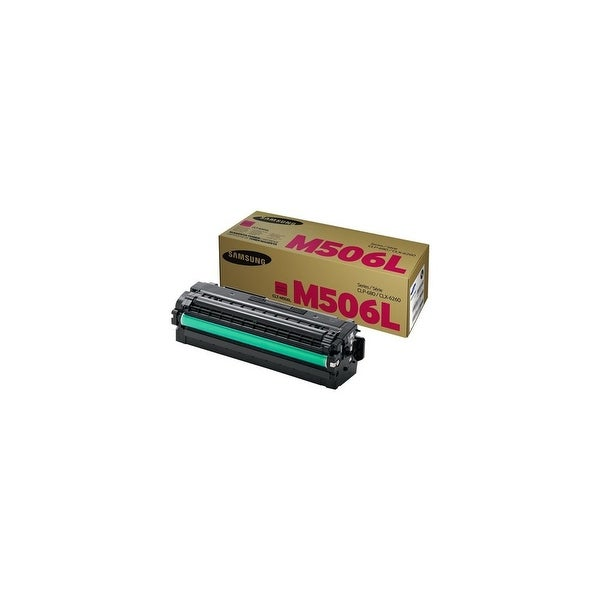 Samsung CLT-M506L Magenta Toner Cartridge Toner Cartridge