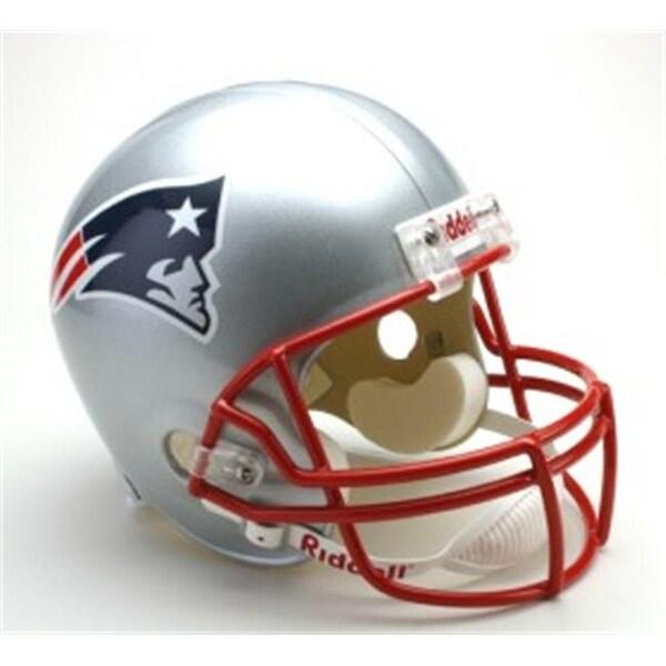 7b6384c10 Shop New England Patriots Riddell Deluxe Replica Helmet - Free ...