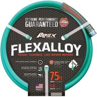 """Apex 8550-75 Flexalloy Garden Hose, 5/8"""" X 75'"""