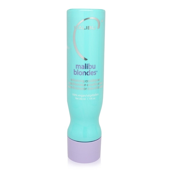 Malibu C Blondes Enhancing Conditioner - 9Oz