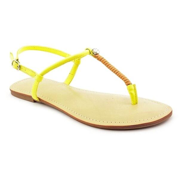 Carlos Santana Women's Twist Sandal (Yellow)