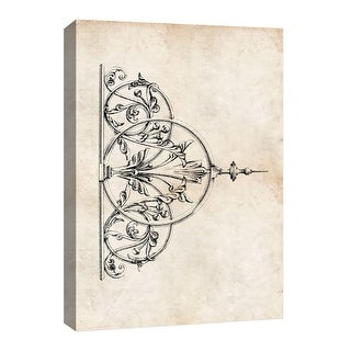 """PTM Images 9-126745  PTM Canvas Collection 8"""" x 10"""" - """"Family Crest"""" Giclee Patterns and Designs Art Print on Canvas"""
