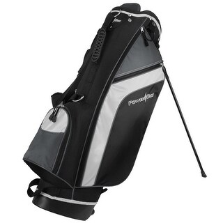 Powerbilt Santa Rosa Black/Charcoal Stand Golf Bag