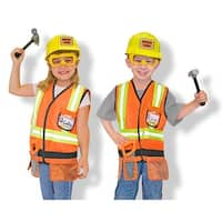 Role Play Construction Worker Costume Set