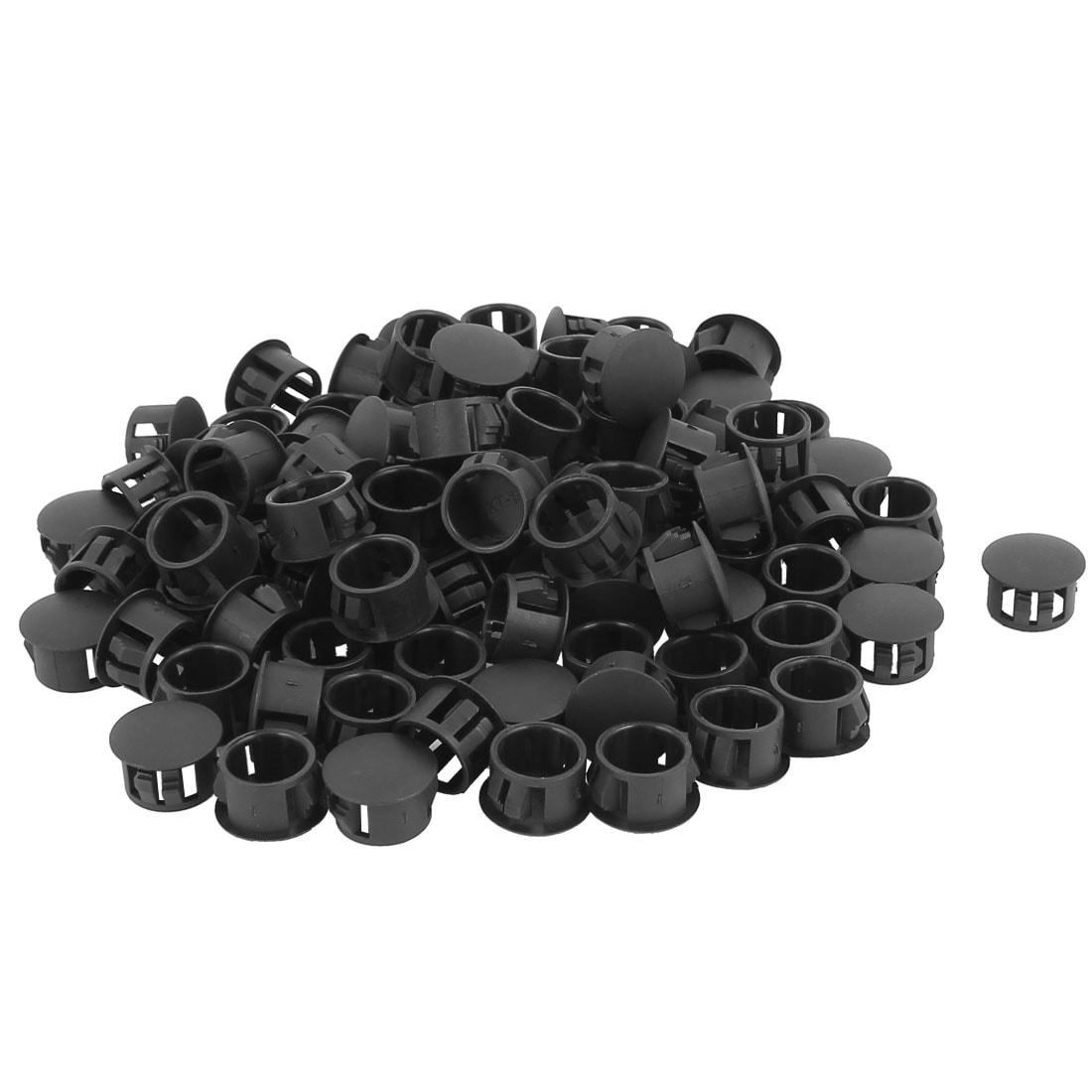 New 100pcs Inner thread plastic hole plug cover Cover screw cap