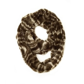 Super Soft Faux Fur Warm Infinity Loop Circle Scarf