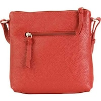 fbd55b63ac Hadaki by Kalencom Women's Susan Crossbody Deep Red - US Women's One Size  ...
