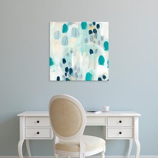 Easy Art Prints June Erica Vess's 'Sky Pebbles III' Premium Canvas Art