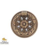 Bosetti Marella 100216 Louis XVI 1-9/16 Inch Diameter Ring Cabinet Pull