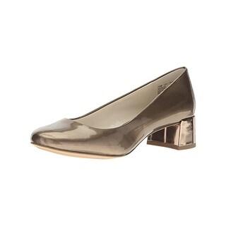 Anne Klein Womens Hallie Dress Pumps Block Heel