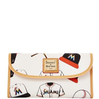 Dooney & Bourke MLB Marlins Continental Clutch (Introduced by Dooney & Bourke at $128 in Feb 2014)