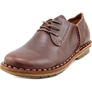 Bruno Marc New York 6195 Round Toe Leather Oxford