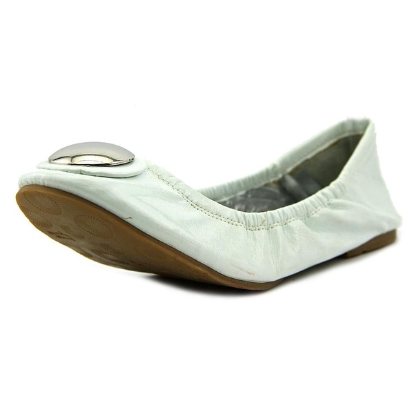 Maria Mare 30460 Women  Round Toe Synthetic White Ballet Flats