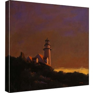 """PTM Images 9-97756  PTM Canvas Collection 12"""" x 12"""" - """"Cape Cod Sunset"""" Giclee Rural Art Print on Canvas"""