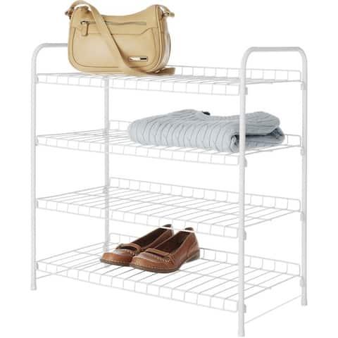 Whitmor 6023-4139-cb 4 tier closet shelves