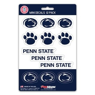 Penn State Nittany Lions Decal Set Mini 12 Pack