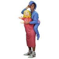Baby on Mommy Back Funny Adult Halloween Costume - standard - one size