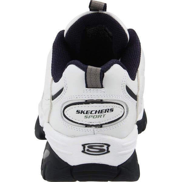 Persistencia complejidad acción  Shop Skechers Sport Men's Energy Afterburn Lace-Up Sneaker,White/Navy,9 M  Us - Free Shipping Today - Overstock - 25591913