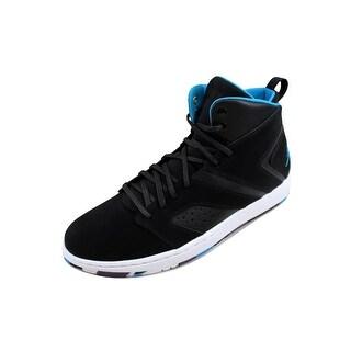Nike Men's Air Jordan Flight Legend Black/Blue Lacquer-White AA2526-005