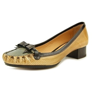 Mono Cuoio Round Toe Leather Loafer