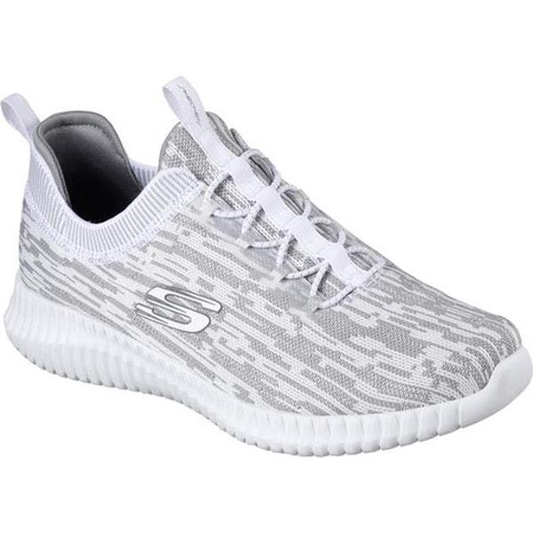 cc2449f6a9 Shop Skechers Men's Elite Flex Hartnell Sneaker White/Gray - On Sale ...