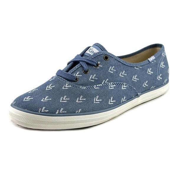 Keds Ch Arrow Women Canvas Blue Fashion Sneakers